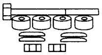 MITSUBISHI STABILIZÁTOR SZETT (OEM:MB527385, 11/86- ELSŐ SZETT MITSUBISHIBISHI L300
