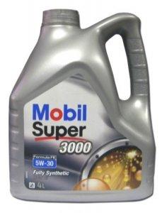 MOBIL SUPER 3000 FE 5W30 4L MOTOROLAJ