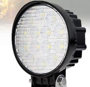 MUNKALÁMPA 12-30V KEREK 9 LED