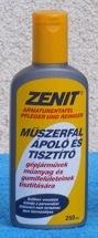 MŰSZERFALÁPOLÓ/TISZTÍTÓ ZENIT 250ML