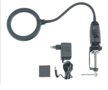 Nagyító LED lámpával (14 LED) - elem vagy 220V