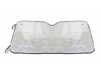 Napvédő első szélvédőre 130x60 cm - ezüst
