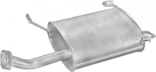 Nissan hátsó kipufogó alumínium (primera 1.6 16v 96.06-99.06)