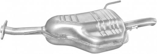 Opel hátsó kipufogó alumínium (astra g 1,7dtl 98-00 1,7dti 00-04 2,0ditd 98-04)