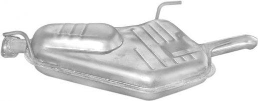 Opel hátsó kipufogó alumínium (vectra B 2.0 dti 96-02)
