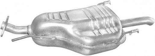 Opel hátsó kipufogó W alumínium (zafira 1.8)