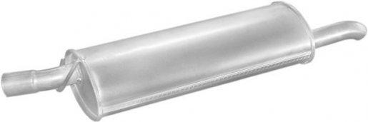 Opel hátsó kipufogó W17350 alumínium (astra comBi)