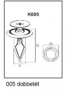 PATENT K005 DOBBETÉT