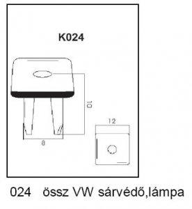 PATENT K024 VW SÁRVÁDŐ,LÁMPA