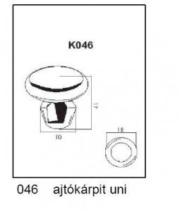 PATENT K046 UNI AJTÓKÁRPIT