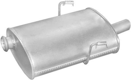 Peugeot hátsó kipufogó b190-275alumínium (205 d alumínium)
