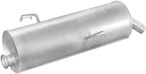 Peugeot hátsó kipufogó b190-355 (206 16i alumínium)