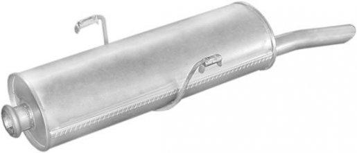 Peugeot hátsó kipufogó W17582 alumínium (306 ,W17582,b190-227,)