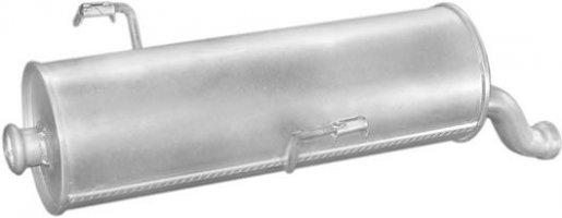 Peugeot hátsó kipufogó W21883 alumínium (206 1.4/1.6 98-)