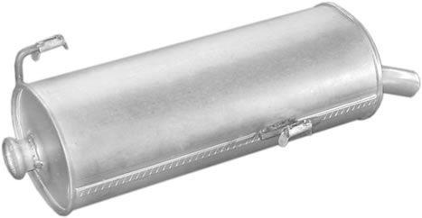Peugeot hátsó kipufogó W21884 alumínium (206 1.9d 98-)