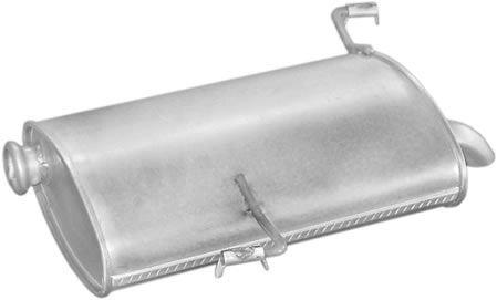 Peugeot hátsó kipufogó W22734 alumínium 206 1.1 1.4