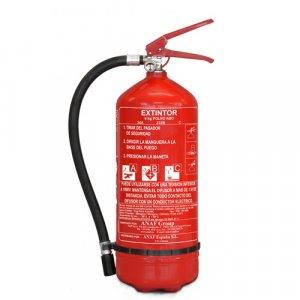 Porral oltó tűzoltókészülék 6 kg - poroltó
