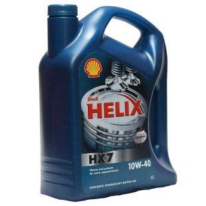 SHELL HELIX HX7 10W40 4L MOTOROLAJ