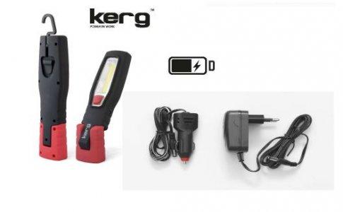 Szerelőlámpa akkumulátoros COB LED (6 LED)
