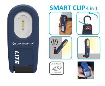 Szerelőlámpa akkumulátoros SMD LED (4 LED)- kicsi-1