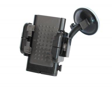Telefontartó - állítható (fekete)