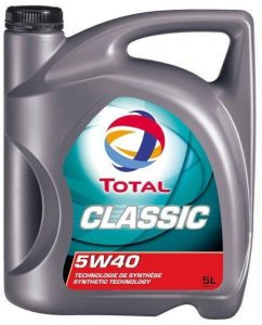 TOTAL CLASSIC 5W40 5L MOTOROLAJ
