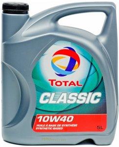 Total Classic 7 10W40 4L Motorolaj