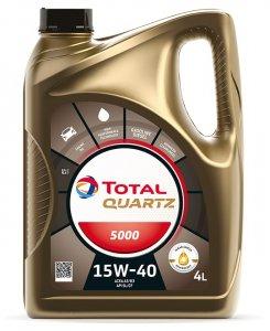 Total Quartz 5000 15W40 4L Motorolaj-2