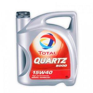 Total Quartz 5000 15W40 4L Motorolaj-1
