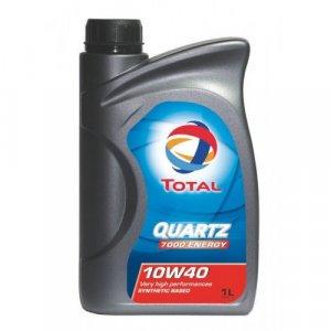 Total Quartz 7000 10W40 1L Motorolaj-1