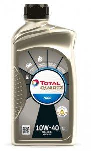 Total Quartz 7000 10W40 1L Motorolaj-2