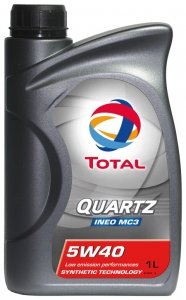 TOTAL QUARTZ INEO MC3 5W40 1L MOTOROLAJ
