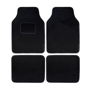Univerzális textil autószőnyeg A típus - fekete