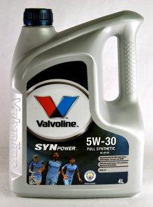 VALVOLINE SYNPOWER XL-III C3 5W30 4L MOTOROLAJ
