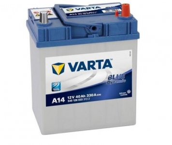 VARTA A14 BLUE DYNAMIC 40AH EN 330A JOBB+ (540 126 033)