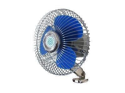 Ventillátor 12V - kék