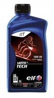 Elf Moto Tech 4T 10W50 1L Motorolaj-2