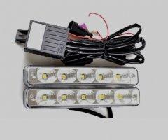 LED lámpa (nappali fény) 12V fehér 5 LEDES-3