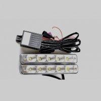 LED lámpa (nappali fény) 12V fehér 5 LEDES-1