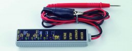Akkumulátor teszter (voltmérő)