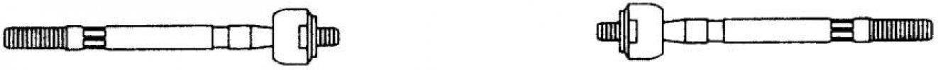 ALFA GÖMBFEJ G1151 BELSŐ 164 (OEM:9945565/6, 1/87-8/98 (A:M14X1,5 B:M14X1,5 L:26)