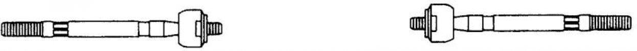 ALFA GÖMBFEJ G1335 BELSŐ 145 (OEM:9950452, -11/96 (A:M14X1,5 B:M12X1,5 L=285MM)