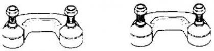 AUDI STABILIZÁTOR G2279 ELSŐ (OEM:8D0 411 317D, 94-00 (L:85MM) AUDI A4,)