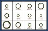 Klíma O-gyűrű tömítés készlet 120 db