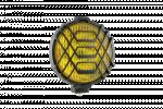 Ködlámpa ráccsal - kerek keskeny (db) WES0218