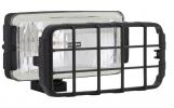 Ködlámpa ráccsal szúró fényű - téglalap H3 (pár) WES0039