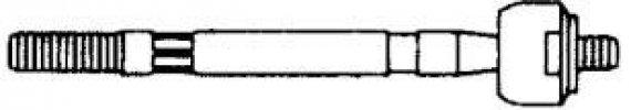 MAZDA GÖMBFEJ LF15497 BELSŐ (OEM:G030-32-250A, 82-87 BAL (A:M16X1,0 B:M14X1,5 L)