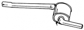 RENAULT KIPUFOGÓ KÖZÉP W01647 (R20 2.0)
