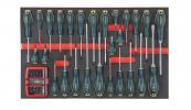 Szerszámos Kocsi Tálca Csavarhúzó És Bit Készlet 58Db
