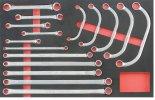 Szerszámos Kocsi Tálca Speciális Kulcs Készlet 16Db